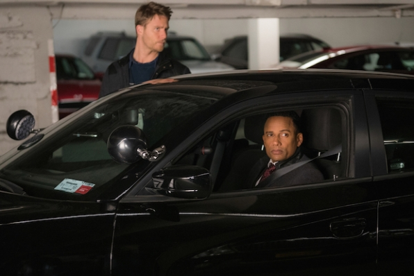 Jake McDorman as Brian Finch and Hill Harper as Agent Spelman Boyle