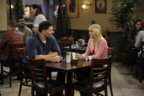 Julian asks Christy out for coffee after first meeting through AA.