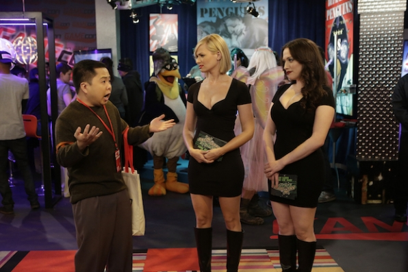 "2 Broke Girls: ""And The Booth Babes"" (Season 5, Episode 11)"