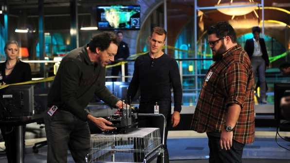 Marcus Giamatti as Artie Sneed, James Van Der Beek as Agent Elijah Mundo, and Charley Koontz as Agent Daniel Krumitz