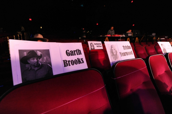 Garth Brooks will have a nice spot next to his leading lady, Trisha Yearwood.