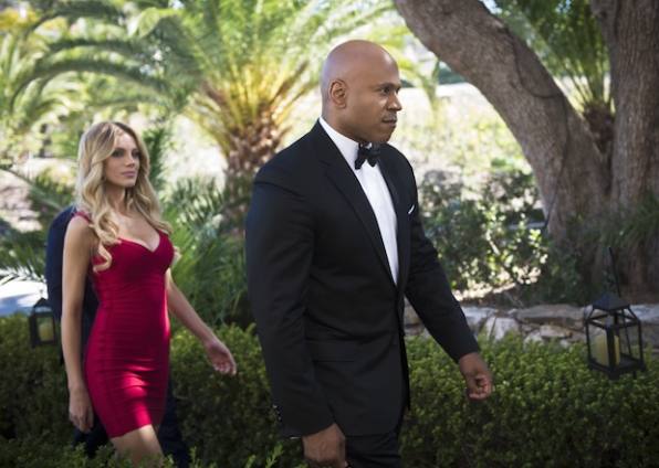 "Bar Paly as Anastasia ""Anna"" Kolcheck and LL COOL J as Sam Hanna"