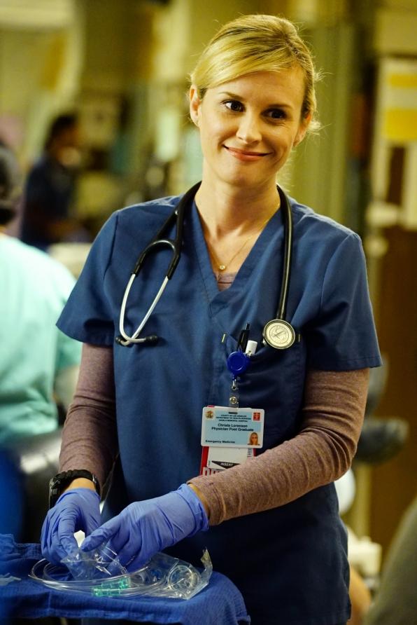 Bonnie Somerville as Dr. Christa Lorenson