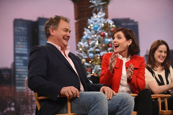 Hugh Bonneville admits to 'Downton Abbey' prank