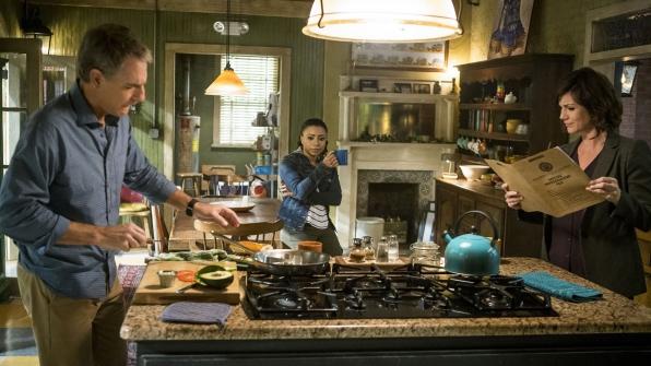 Scott Bakula as Agent Dwayne Pride, Shalita Grant as Sonja Percy, and Zoe McLellan as Agent Meredith Brody