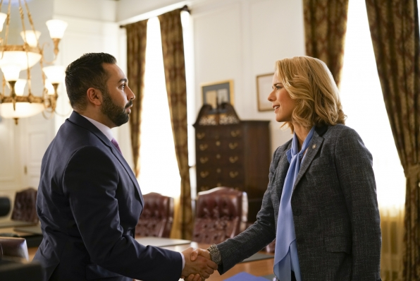 Go behind-the-scenes of Madam Secretary.