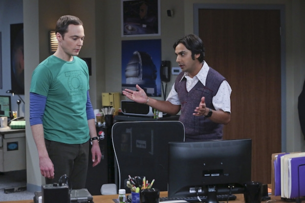 Sheldon and Raj have a disagreement