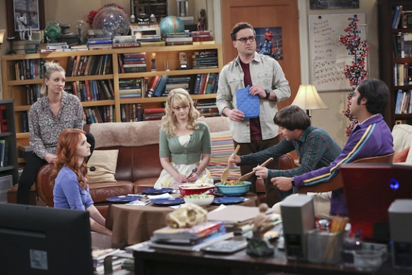 Sheldon's friends cook dinner for themselves.