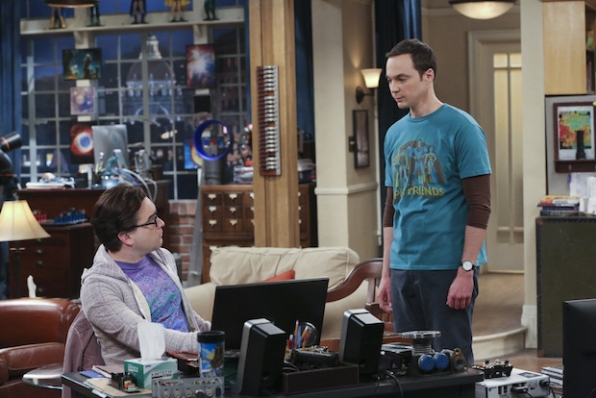 Once he's feeling better, Sheldon confronts Leonard.