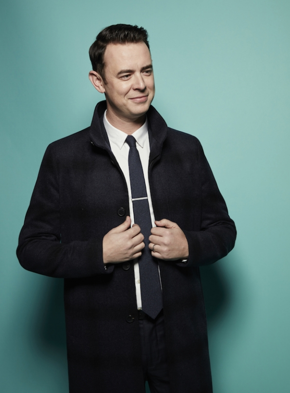 Colin Hanks looks like a handsome male model