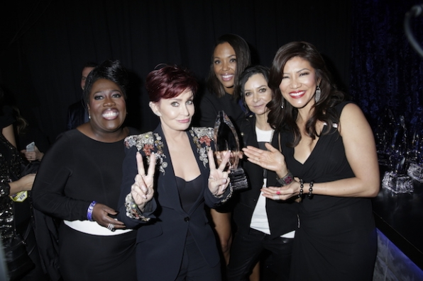 The women of The Talk are loving their PCA win