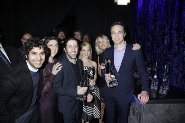 The Big Bang Theory cast can't get enough of each other