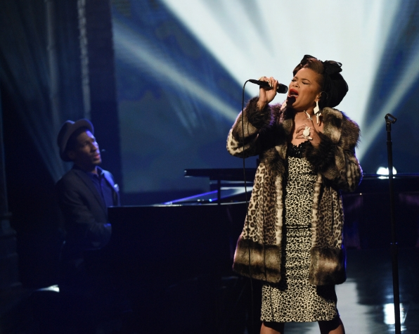 Andra Day and Jon Batiste