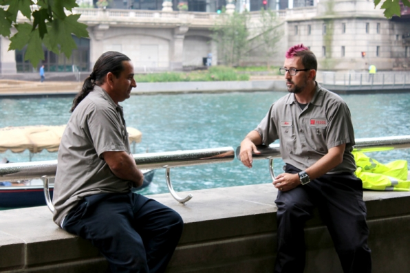 A sit down with one of YESCO's employees helps Jeffrey see the many sides to his business.