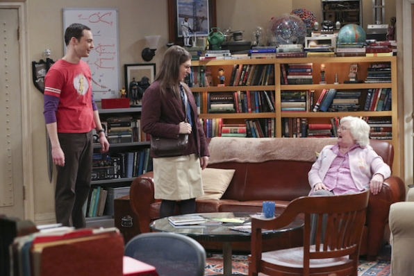 Amy meet's Sheldon's beloved Meemaw for the first time.