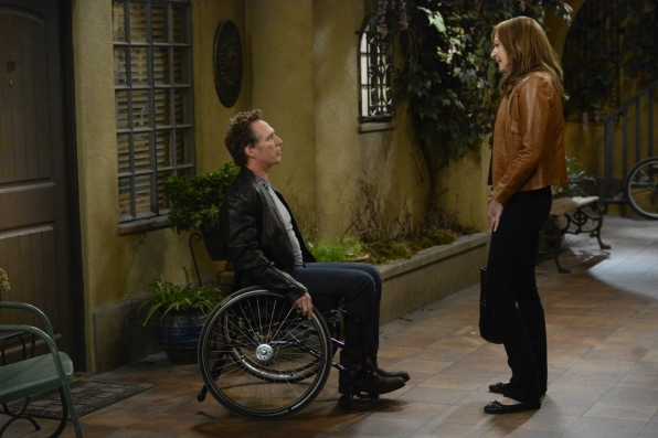 Will Bonnie's relationship with Adam stand the test of distance on Mom?