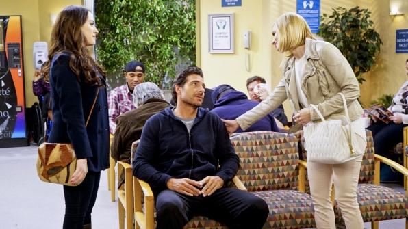 Caroline is sympathetic to Randy's pain, but she also has ulterior motives.