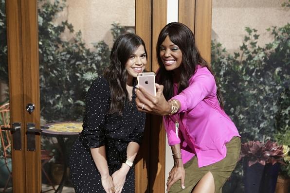 America Ferrera and Aisha Tyler