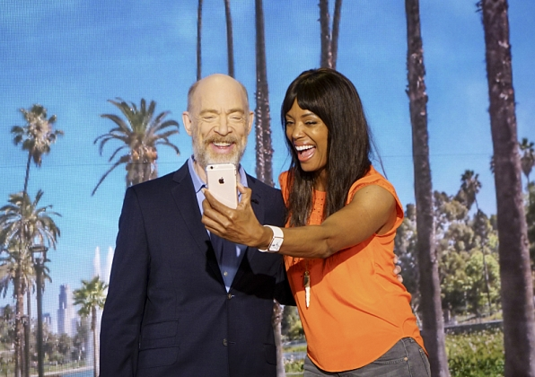 J.K. Simmons and Aisha Tyler