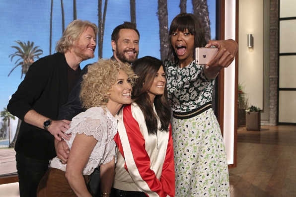 Little Big Town and Aisha Tyler
