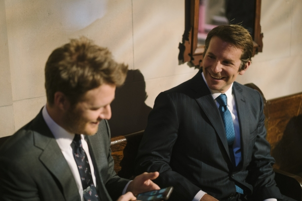 Jake McDorman and Bradley Cooper