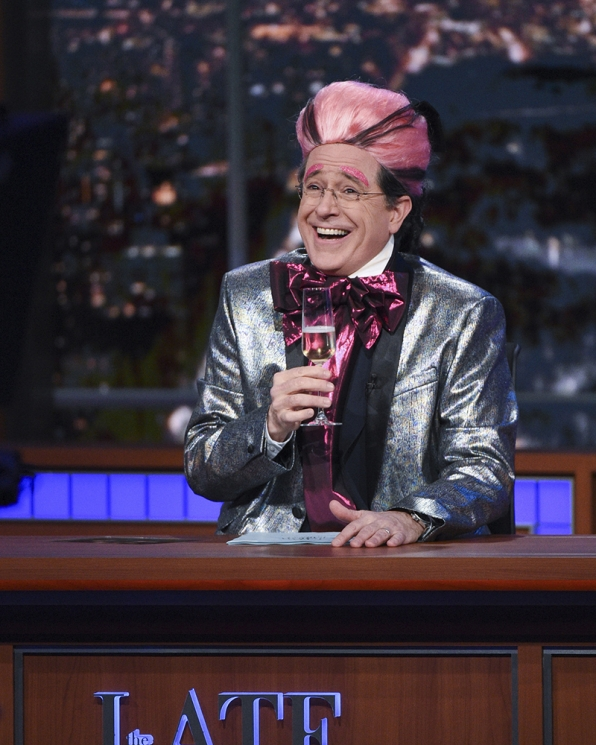 Stephen Colbert In The Hungry For Power Games