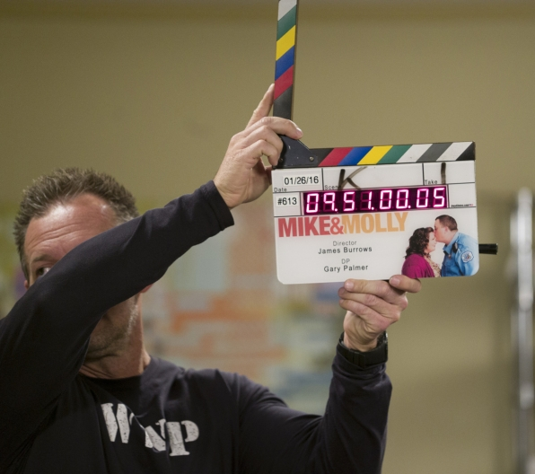 Everything's in order on the set of Mike & Molly's series finale episode.
