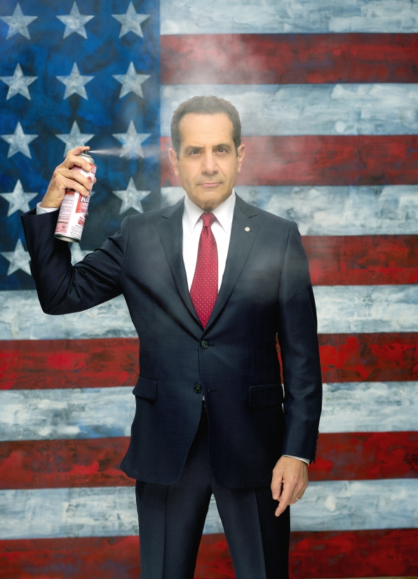 "Tony Shalhoub as Senator Raymond ""Red"" Wheatus"
