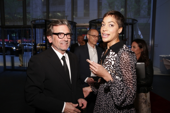 Griffin Dunne and Cush Jumbo