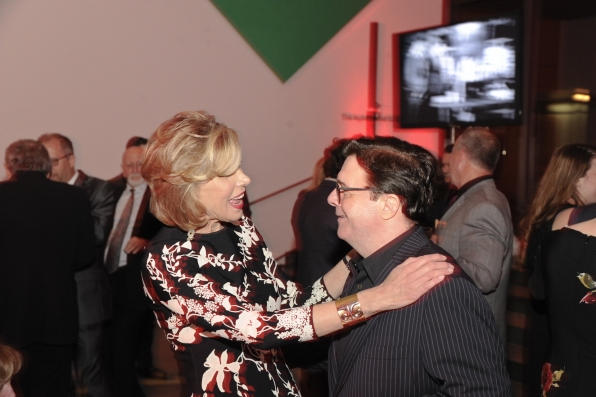 Christine Baranski and Nathan Lane