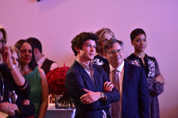 Graham Phillips, Robert King, and Cush Jumbo