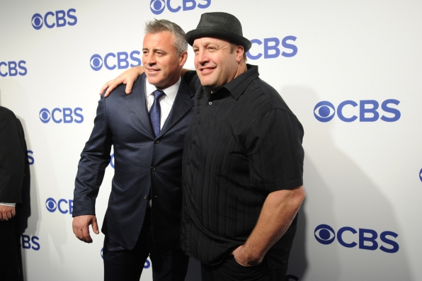 Matt LeBlanc from Man With A Plan and Kevin James from Kevin Can Wait
