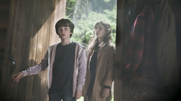 Jack and Sadie find a cabin.