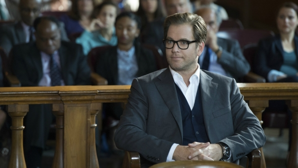 Dr. Bull absorbs the courtroom chatter.