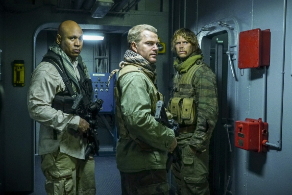 The team comes under fire on NCIS: Los Angeles.