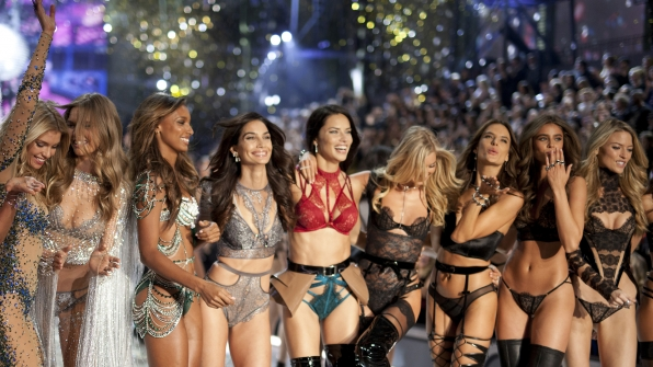 Don't miss the Victoria's Secret Angels take over Paris!