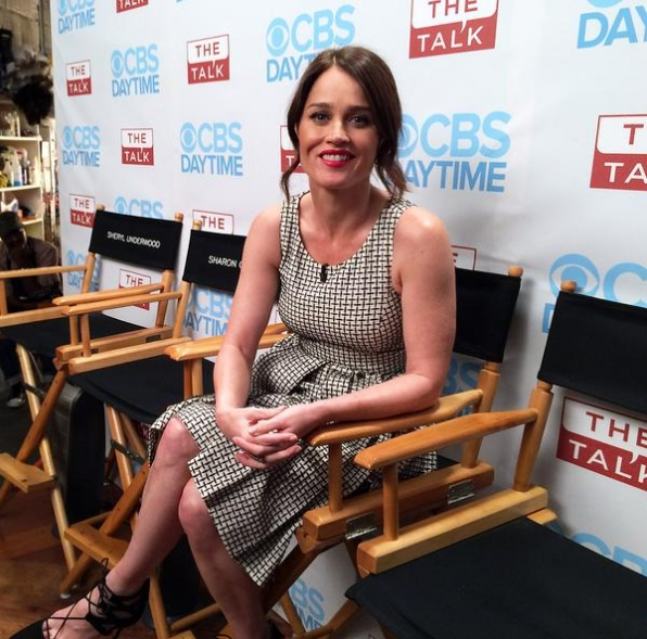 9. The Ladies Caught Up With Robin Tunney.