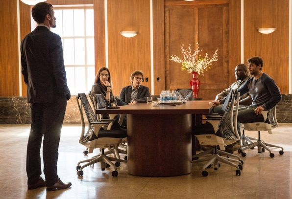 Henri Lubatti as Gaspard Alves, Kristen Connolly as Jamie Campbell, Billy Burke as Mitch Morgan, Nonso Anozie as Abraham Kenyatta, James Wolk as Jackson Oz.