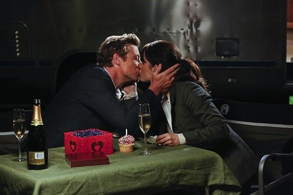 Patrick Jane and Teresa Lisbon (The Mentalist)