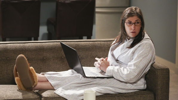"Mayim Bialik's first-ever email address in 1995 was ""nerd@ucla.edu."""