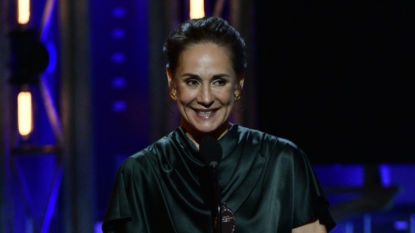 Laurie Metcalf wins the 71st Annual Tony Award for Best Performance by an Actress in a Leading Role in a Play