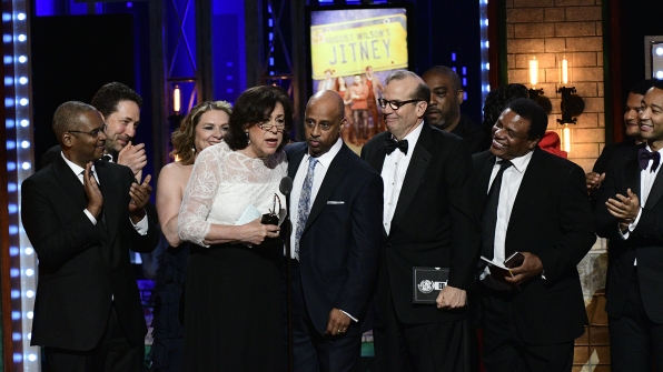 August Wilson's Jitney wins the 71st Annual Tony Award for Best Revival of a Play