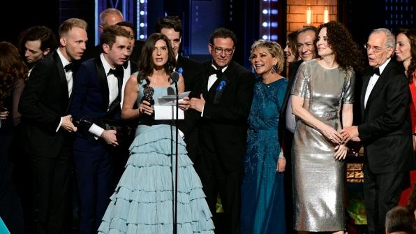 Dear Evan Hansen wins the 71st Annual Tony Award for Best Musical