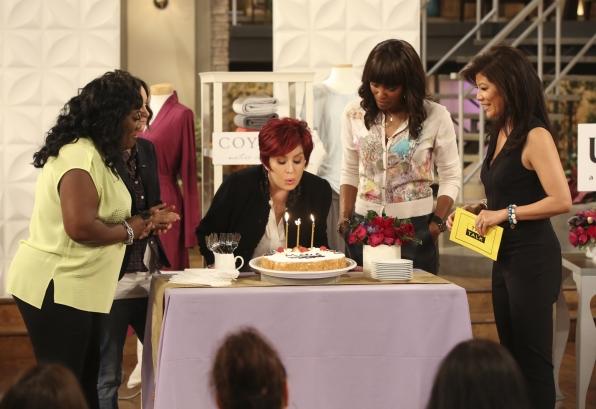 The Ladies Celebrate Sharon's Birthday.
