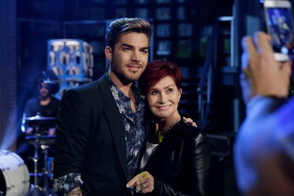 Sharon cozies up to Adam