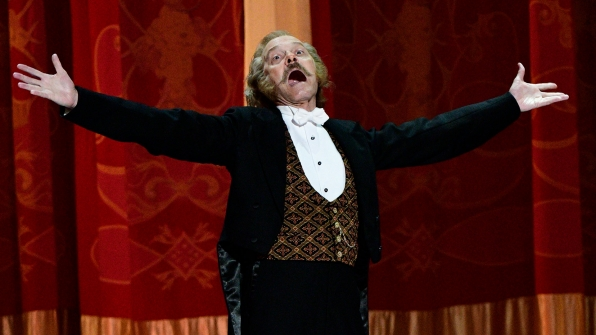 """David Hyde Pierce performs """"Penny In My Pocket"""" from Hello, Dolly!"""