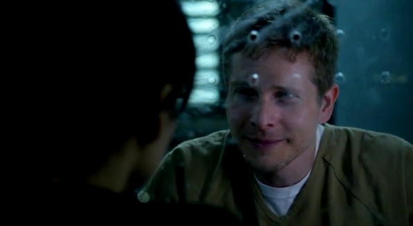 10. Kalinda finds a way to visit Cary to let him know she's on his side.