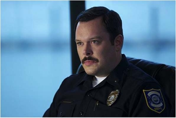 9. Michael Gladis' very official and trusty mustache