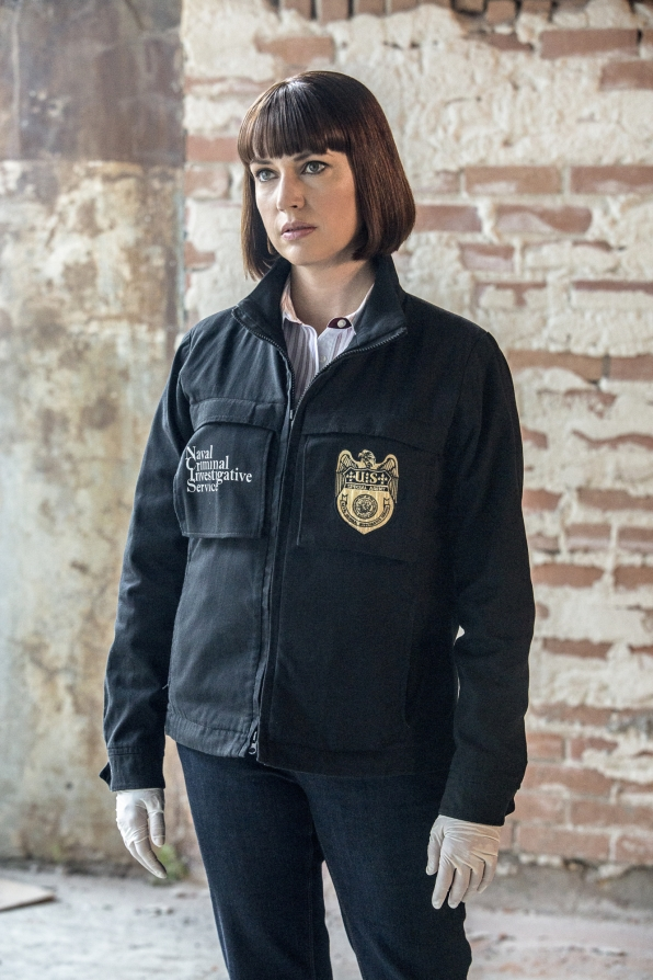 Julie Ann Emery as NCIS Special Agent Karen Hardy