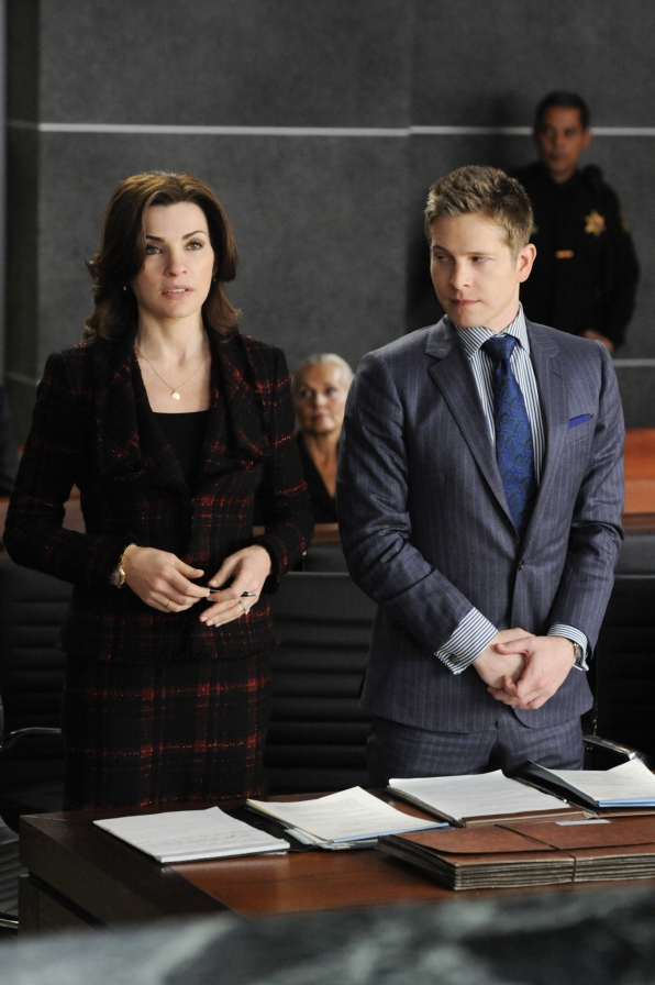 9. Going Up Against Will Gardner Calls For A Special Type Of Suit